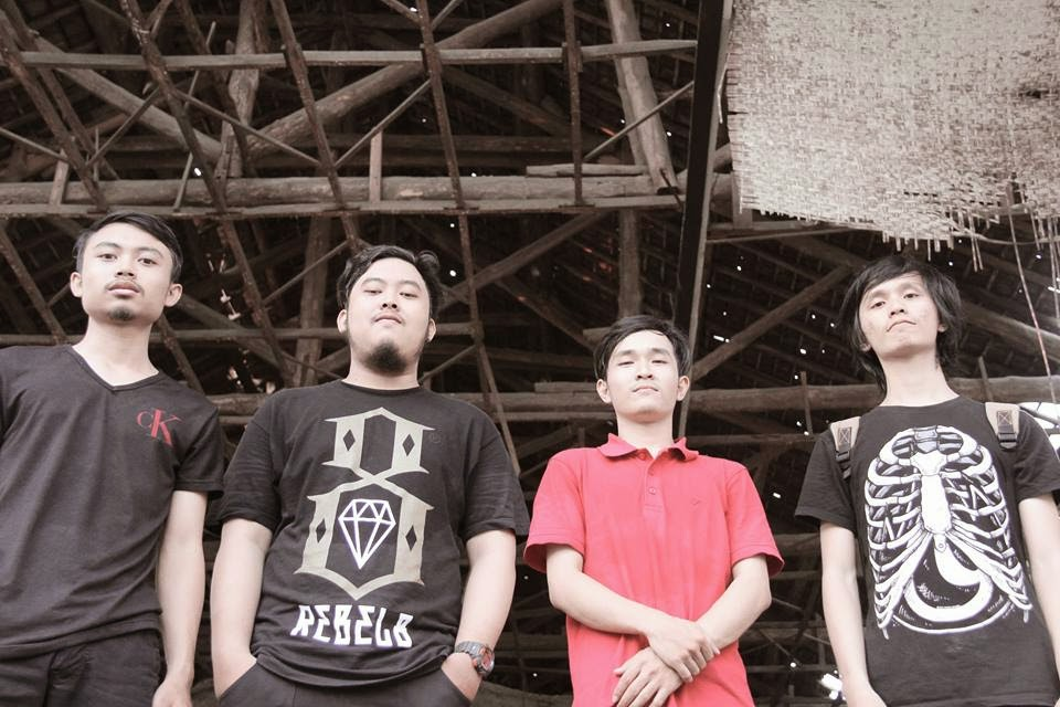 The Blindside Band Metalcore Surabaya foto personil wallpaper