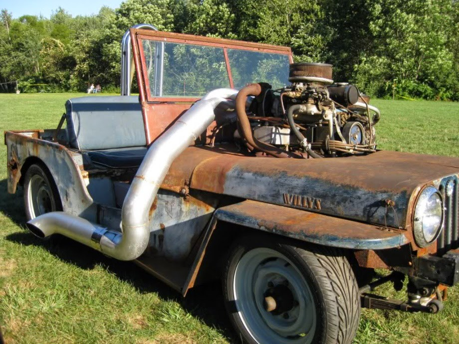 Wrangler Hq Jeep Rat Rod