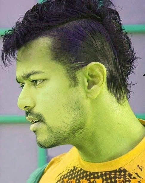 VIJAY Na's Funniest hairstyle of all the time