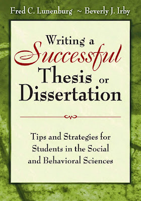 Writing a Successful Thesis or Dissertation: Tips and Strategies for Students in the Social and Behavioral Sciences - Free Ebook Download