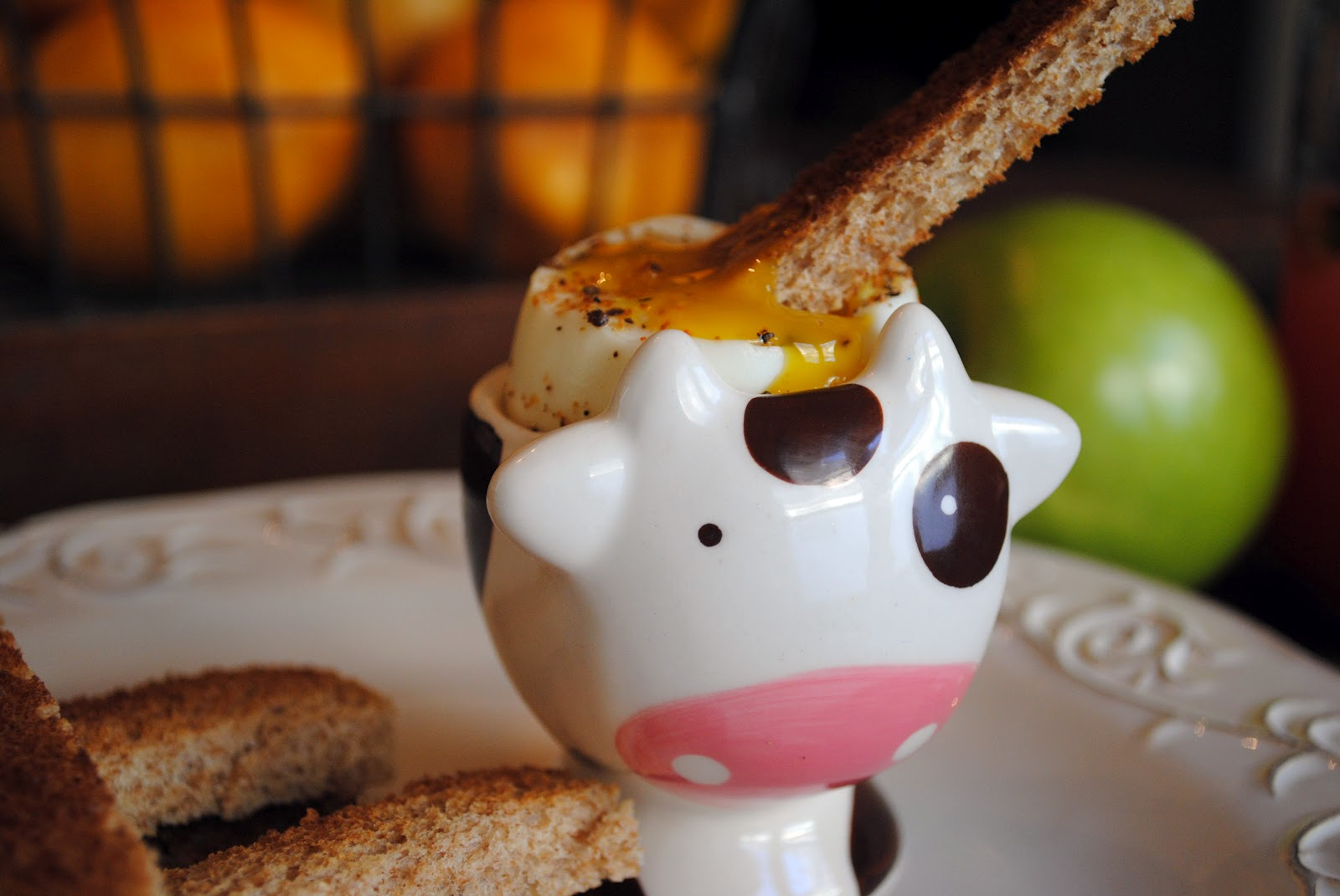 dippy egg and toast
