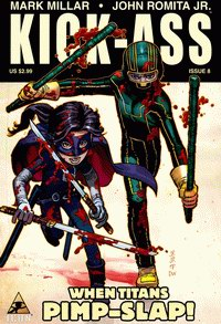 Cover of the final issue of Kick Ass comic series