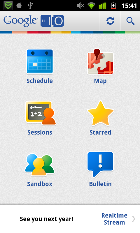 Android UI Patterns: Tablet UI patterns - dashboard