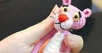 Amigurumi Free Pattern Pink Panther : Free Amigurumi Patterns: Pink Panther