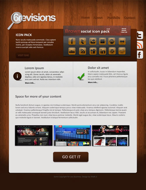 Student Multimedia Design Center: Nicely Designed Website Templates ...