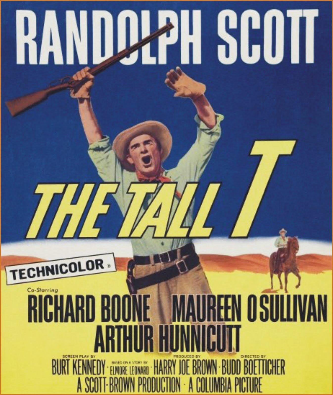"""Filme Resgate De Uma Vida in westerncinemania: """"resgate de bandoleiros"""" (the tall t) - opus 2"""