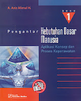 toko buku rahma: buku PENGANTAR KEBUTUHAN DASAR MANUSIA, pengarang aziz alimul, penerbit salemba medika