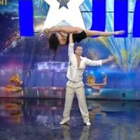 videos, ukraine got talent, duo flame, acrobats