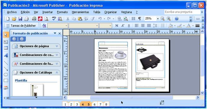 Как создать сайт в ms publisher