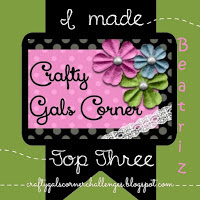 Top 3 Crafty Gals Corner challenge nº98