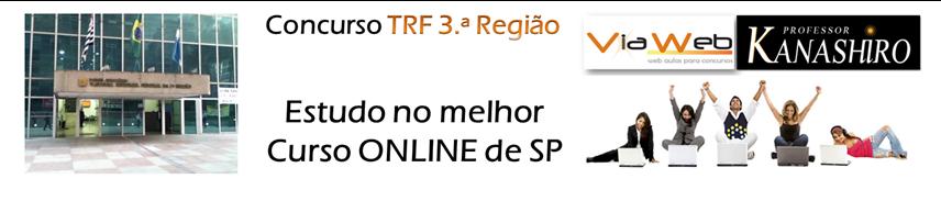 Curso Online TRF3 - Tribunal Regional Federal 3.ª Região 2012