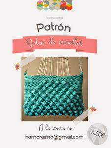 ▼Patrón bolso crochet▼