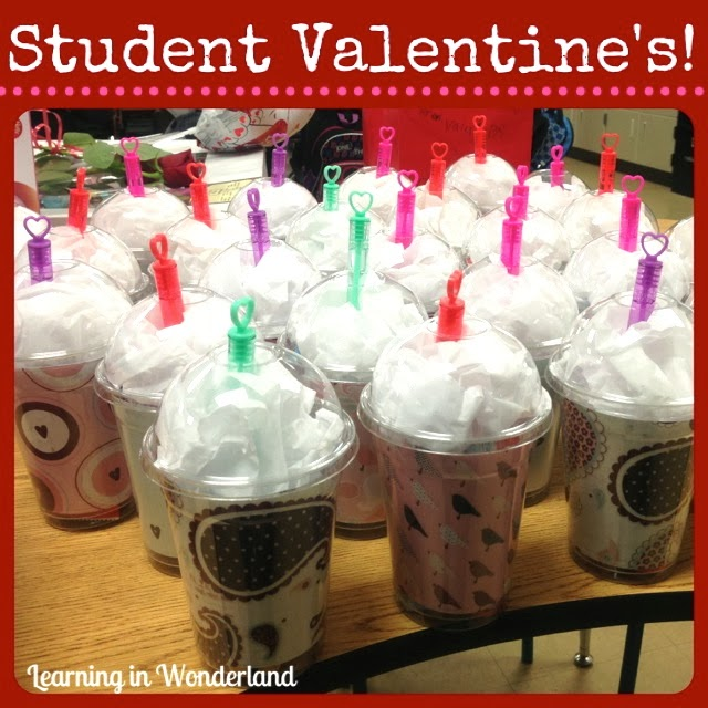 i made these valentine cups for each of my students they were so easy to assemble i gave each student a fruit roll up some fruit gummies - Valentines For Students