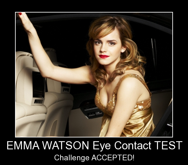 Eye Contact - Level: Emma Watson