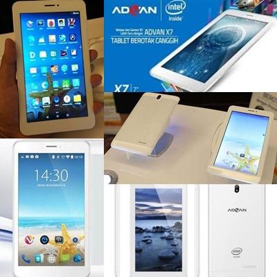 Harga Tablet Advan Vandroid X7 Beserta Spesifikasi Terbaru 2016