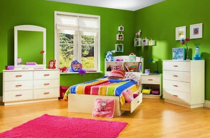 Citrus Is A Bright Green Color That You Can Choose To Apply In Child Room The Colors Have Properties Cause Joy Spirit Activate Emotions