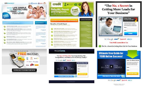 Contoh Landing Page Design Berbayar