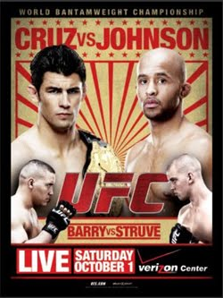 UFC on Versus 6 Cruz vs Johnson (2011)