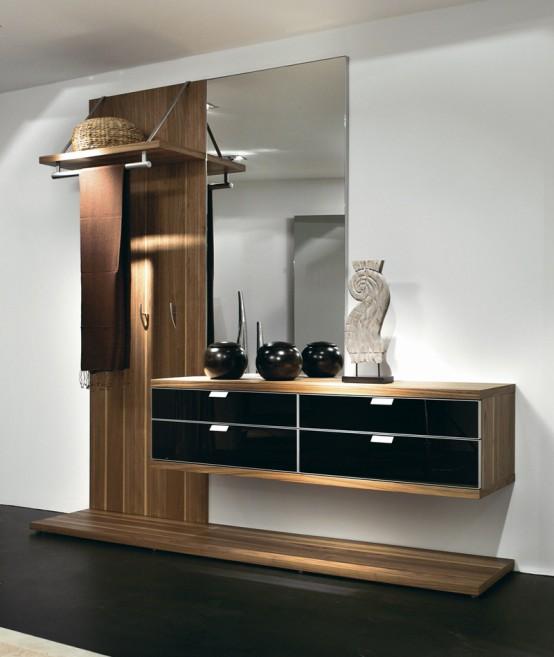 minimalist foyer