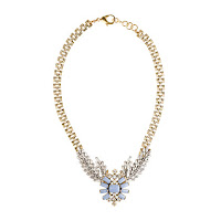 Lulu Frost for J. Crew Winged Glory Necklace