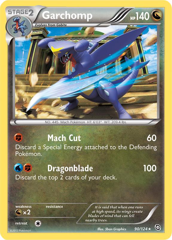 Garchomp dragons exalted pokemon card review primetimepokemon 39 s blog - Mega carchacroc ...