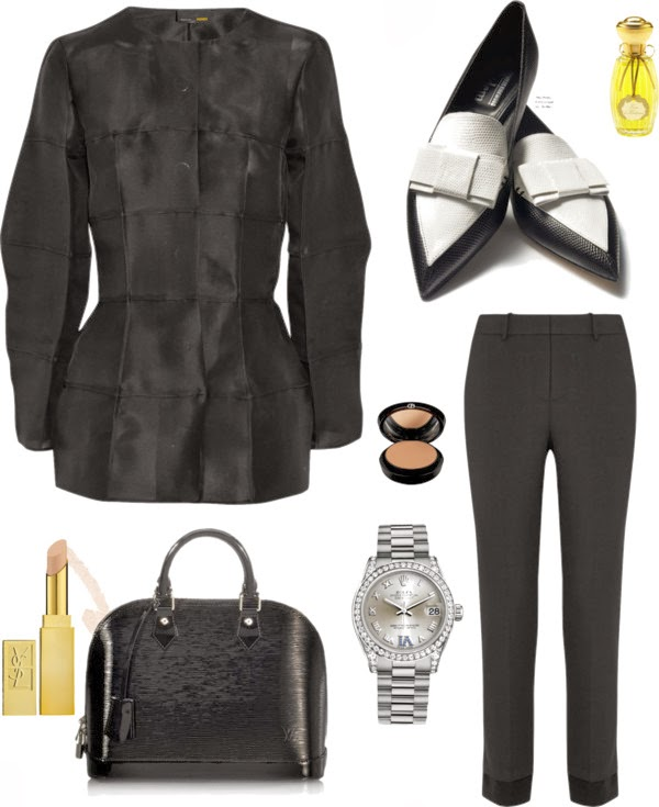 The Style Guide Black And White Fashion Cool Chic