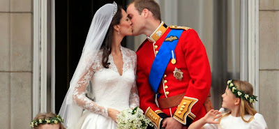 Foto Pernikahan  Kate Middleton dan Pangeran William