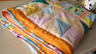 Детское одеяло Тачки, материалы: натуральный хлопок, натуральный лен