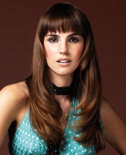 paperlanternstudios: cabello en capas con flequillo 2013