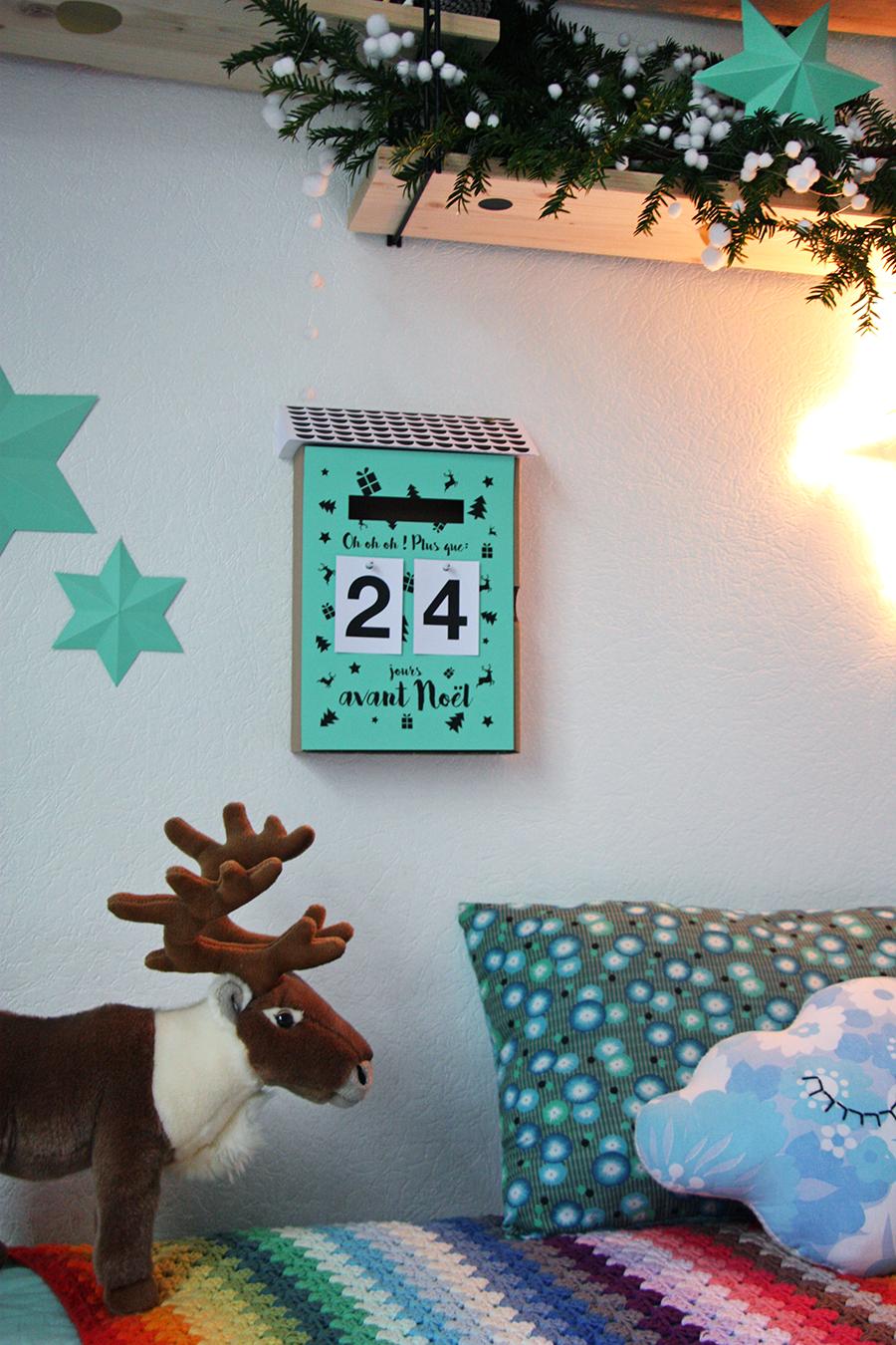 la nouvelle bo te aux lettres calendrier de l 39 avent pour mes jolis m mes mais pas que. Black Bedroom Furniture Sets. Home Design Ideas