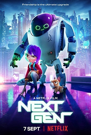 Next Gen - Exclusivo Netflix Filmes Torrent Download capa