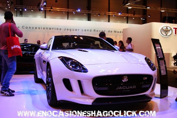 jaguar f type salon del automovil de madrid