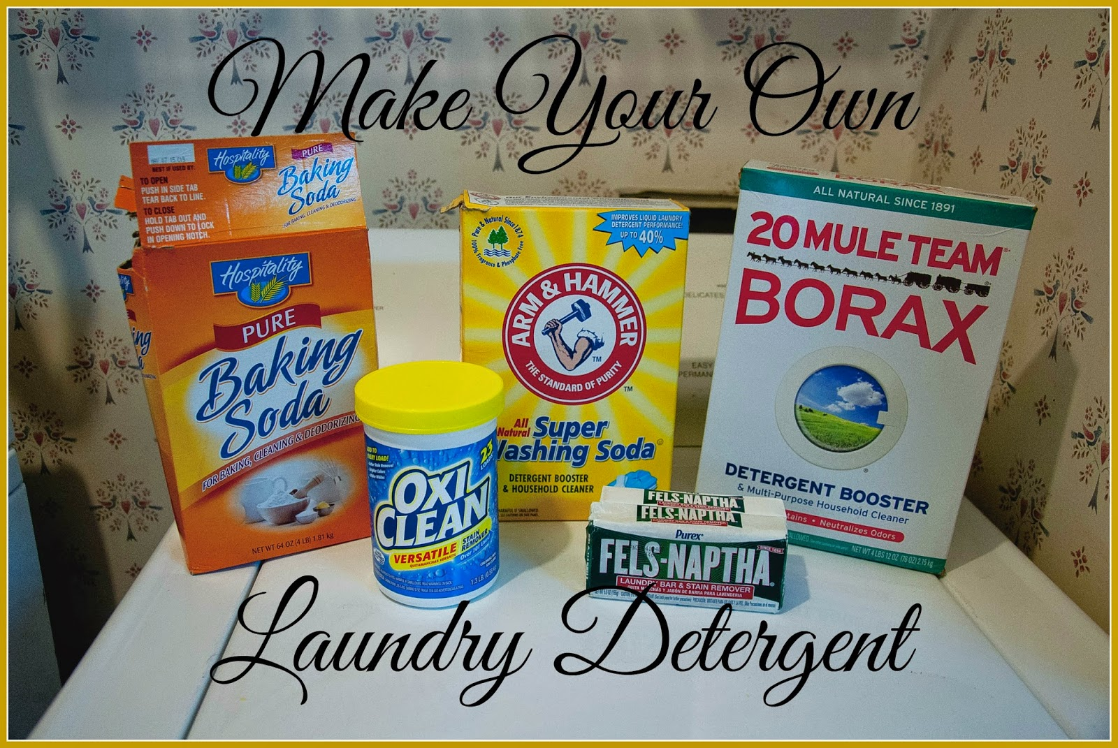 The Raven 39 S Nest Make Your Own Laundry Detergent