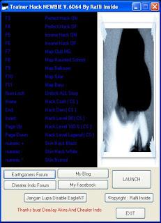 Trainer Hack Newbie V.6064 by.Rafly Inside Polos