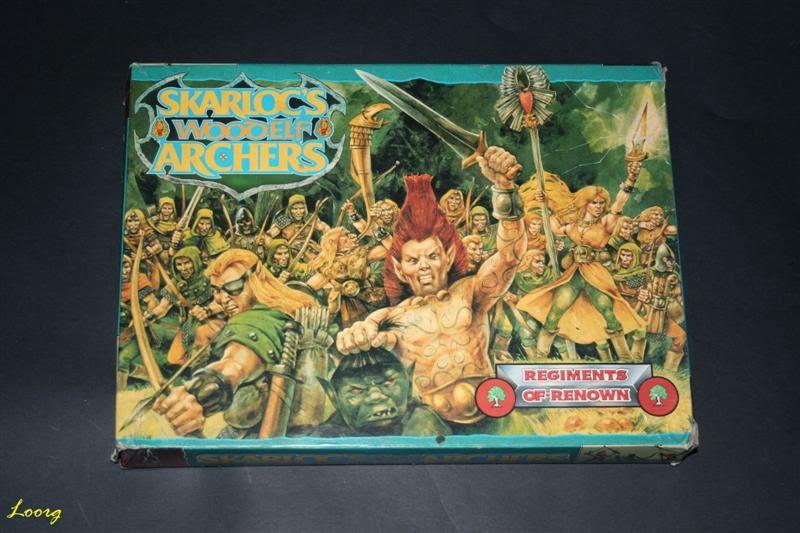 Portada de la caja RRD4 - Skarloc's Wood Elf Archers