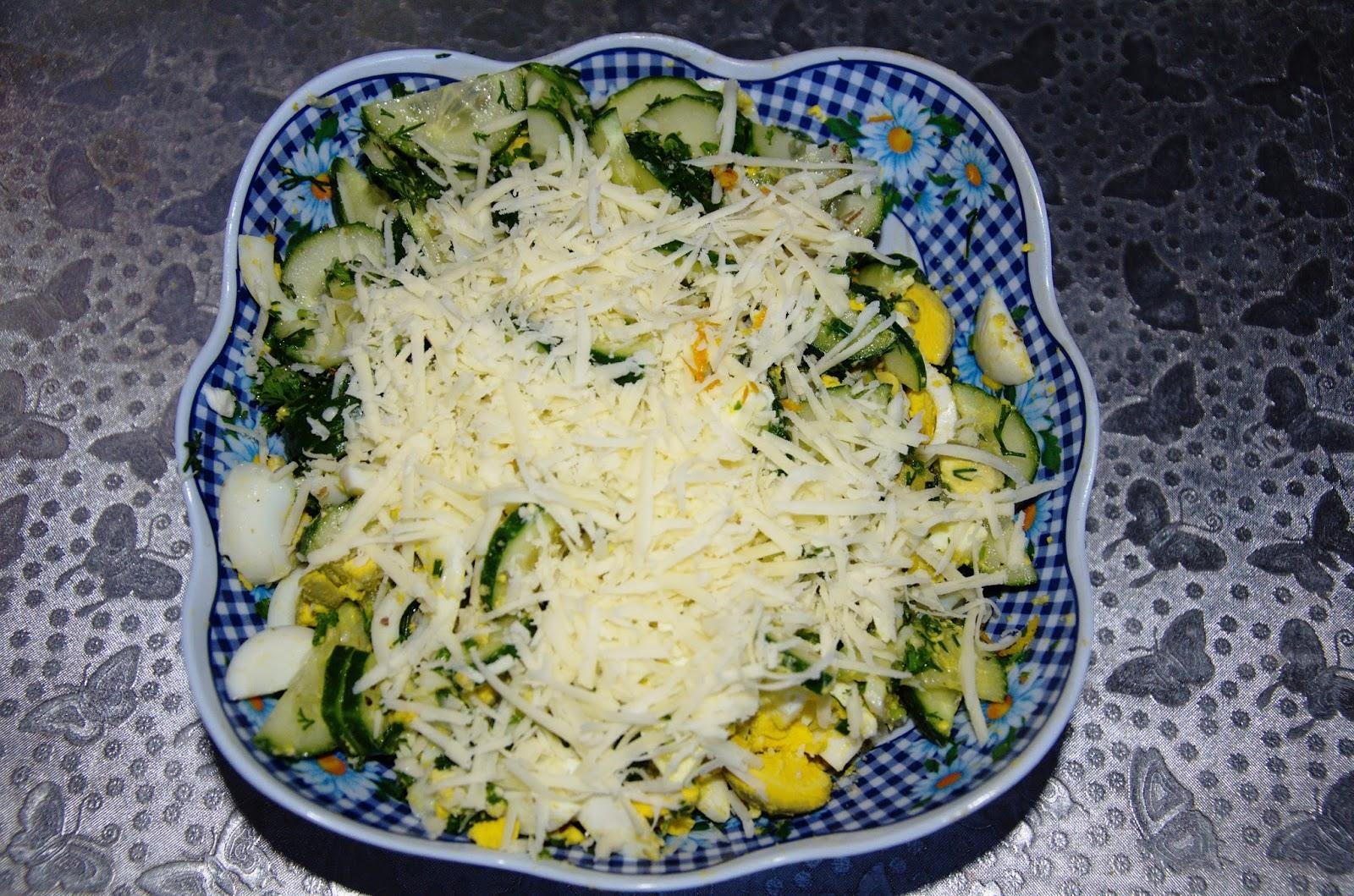 салат кукуруза пекинская капуста огурец