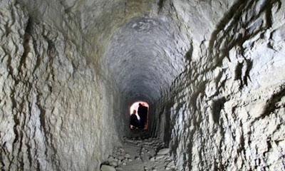 Hidden slave tunnel found beneath Hadrian's Villa