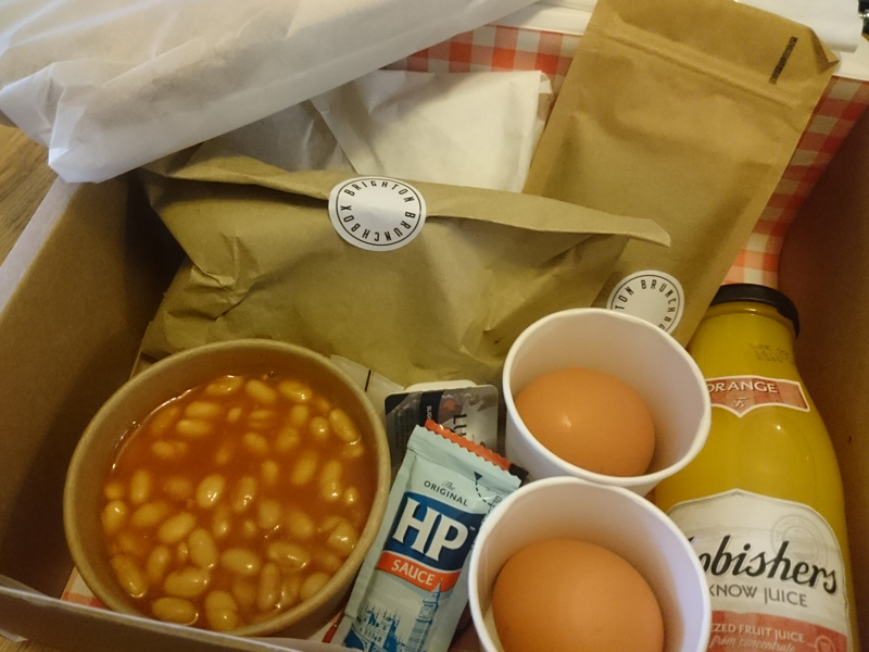 I Was Sent An English Box Which A Treat As Can Count The Number Of Cooked Breakfasts Ive Had On One Hand Pork Sausages And Thickly Cut Bacon