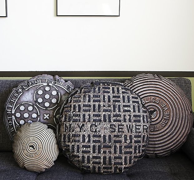 urban accents furniture. If It\u0027s Hip, Here (Archives): Urban Accents - Manhole And Sewer Cover Throw Pillows By In The Seam. Furniture