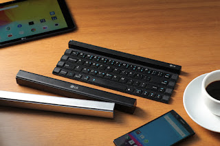LG Rolly Keyboard : First Solid Rollable Wireless Portable Keyboard