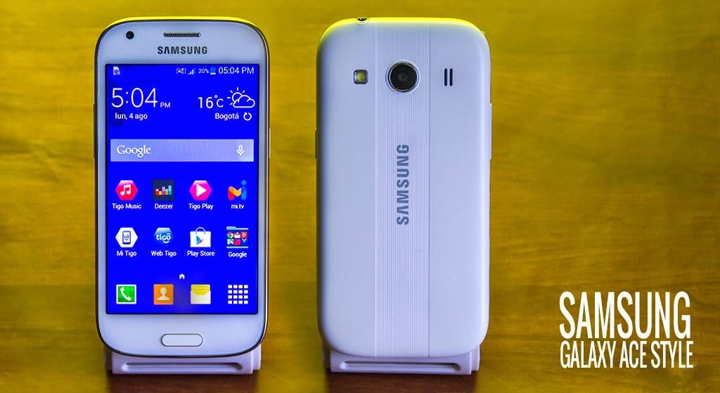 Spesifikasi Ponsel Pintar Samsung Galaxy Ace Style LTE