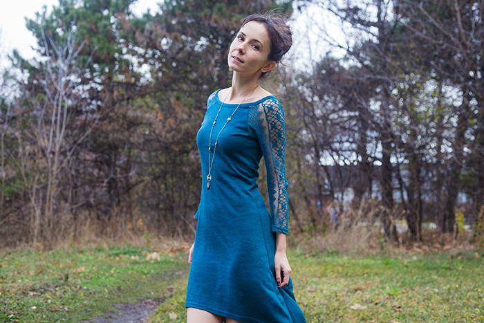 Lace-Sweater-Dress-Ruche