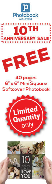 10Th Anniversary Sale - Free 40 pages 6X6 Mini square Softcover Photobook