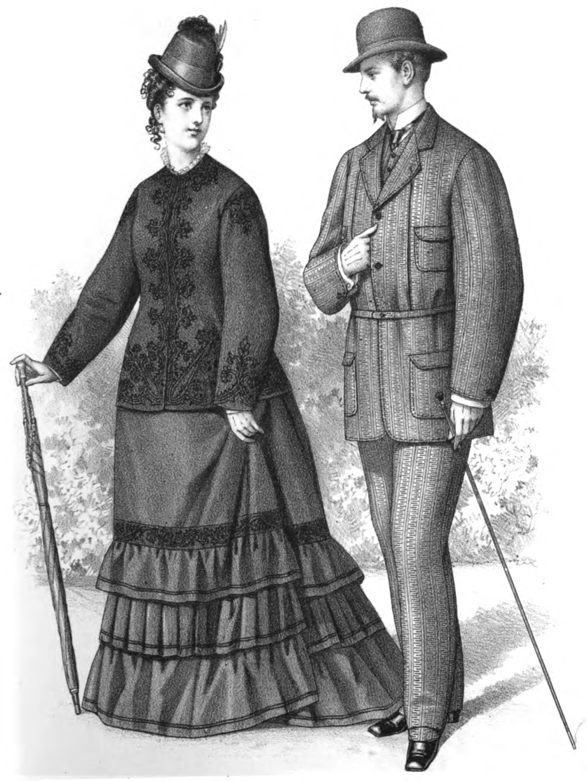 19th century clothing for women