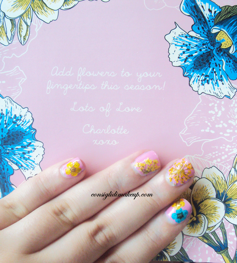 flower manicure ciatè