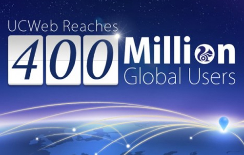 UC Browser 400 Million Global User