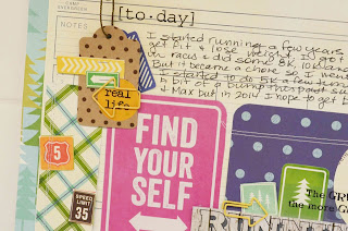New Year's Resolution Layout by Laurel - Laurel Seabrook - #layout #running #everyday life