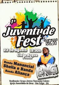 1° Juventude Fest em São Felipe-BA.