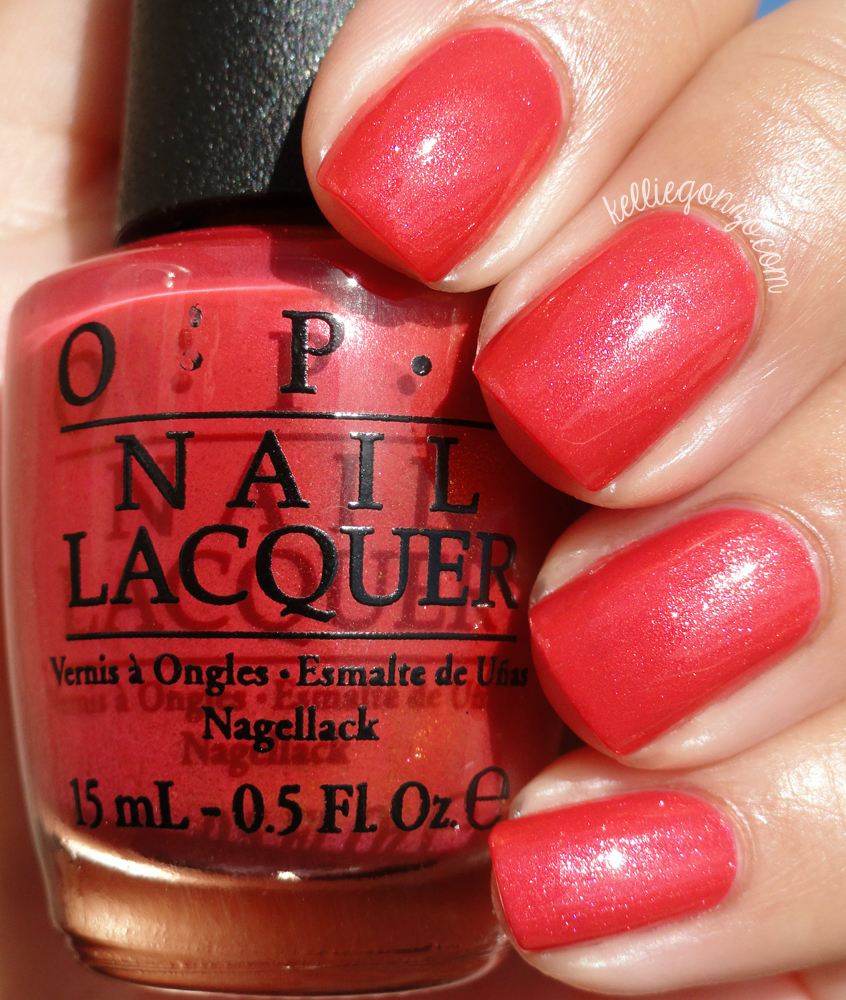 OPI Go With the Lava Flow Hawaii Collection