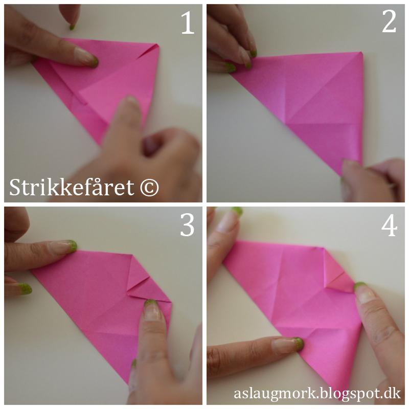 hvordan folder man pengesedler